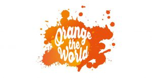Orange the World logo